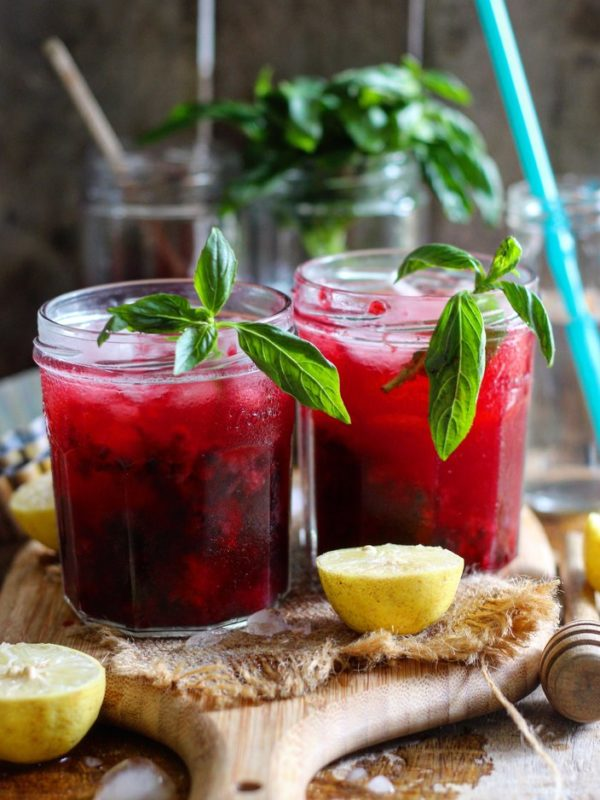 BLACKBERRY LEMON COOLER