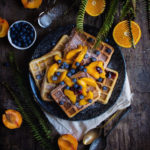 STONE FRUIT WAFFLES
