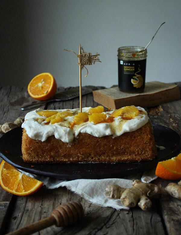 ORANGE GINGER MARMALADE CAKE