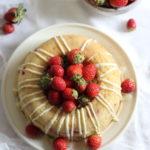 LEMON STRAWBERRY BUNDT CAKE