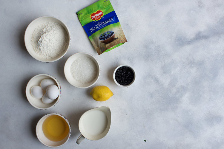 Blueberry Cake Ingredients And Procedure