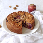 APPLE BLACKBERRY AND WALNUT CAKE