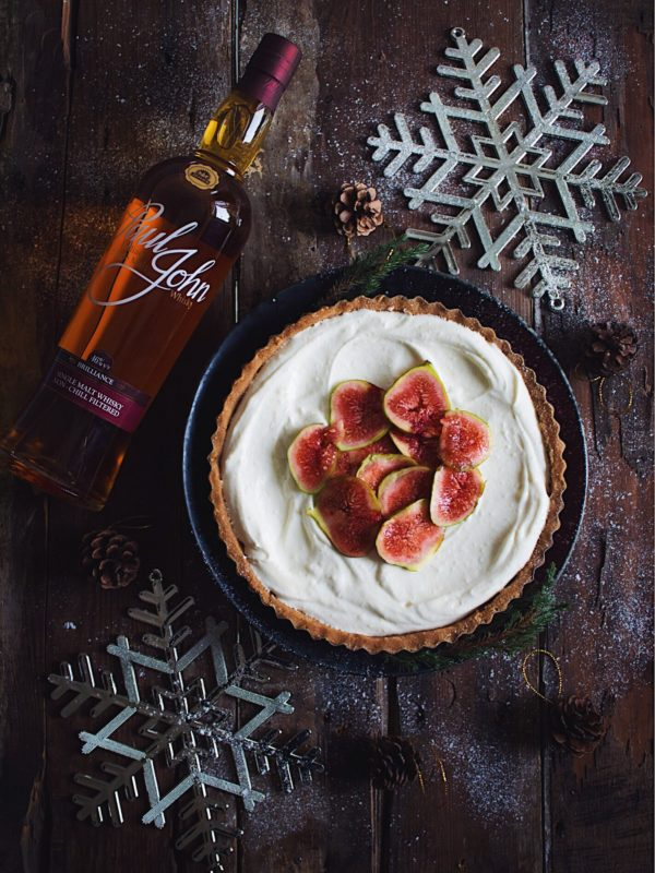 WHISKY LAVENDER AND FIG TART