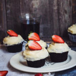 CHOCOLATE CUPCAKES WITH CREAM-CHEESE FROSTING