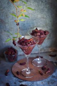 mulberry granita