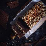WHOLE WHEAT CHOCOLATE LOAF CAKE