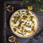 PASSION FRUIT AND CREAM CHEESE TART
