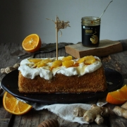 ORANGE GINGER MARMALADE CAKE