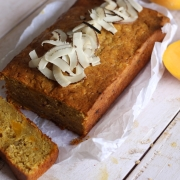 Gluten Free Mango Bread with Coconut