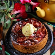 UPSIDE DOWN FIG CAKE