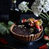 VEGAN GLUTEN FREE CHOCOLATE TART