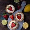 LEMON STRAWBERRY TARTS