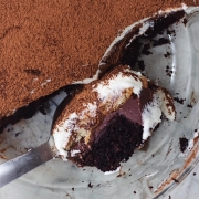 4 LAYER CHOCOLATE CAKE TIRAMISU