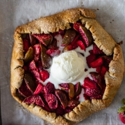 STRAWBERRY AND FIG GALETTE