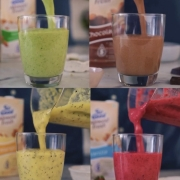 Healthy Smoothies- 4 recipes!
