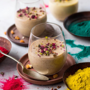 Thandai Pannacotta