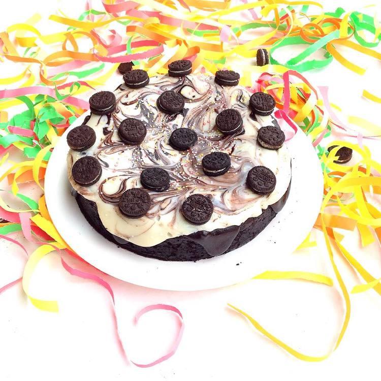 Eggless Oreo Cake Recipe