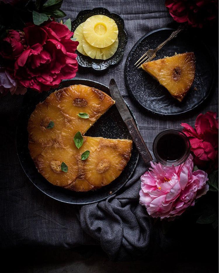Eggless Lemon Buttermilk Cake