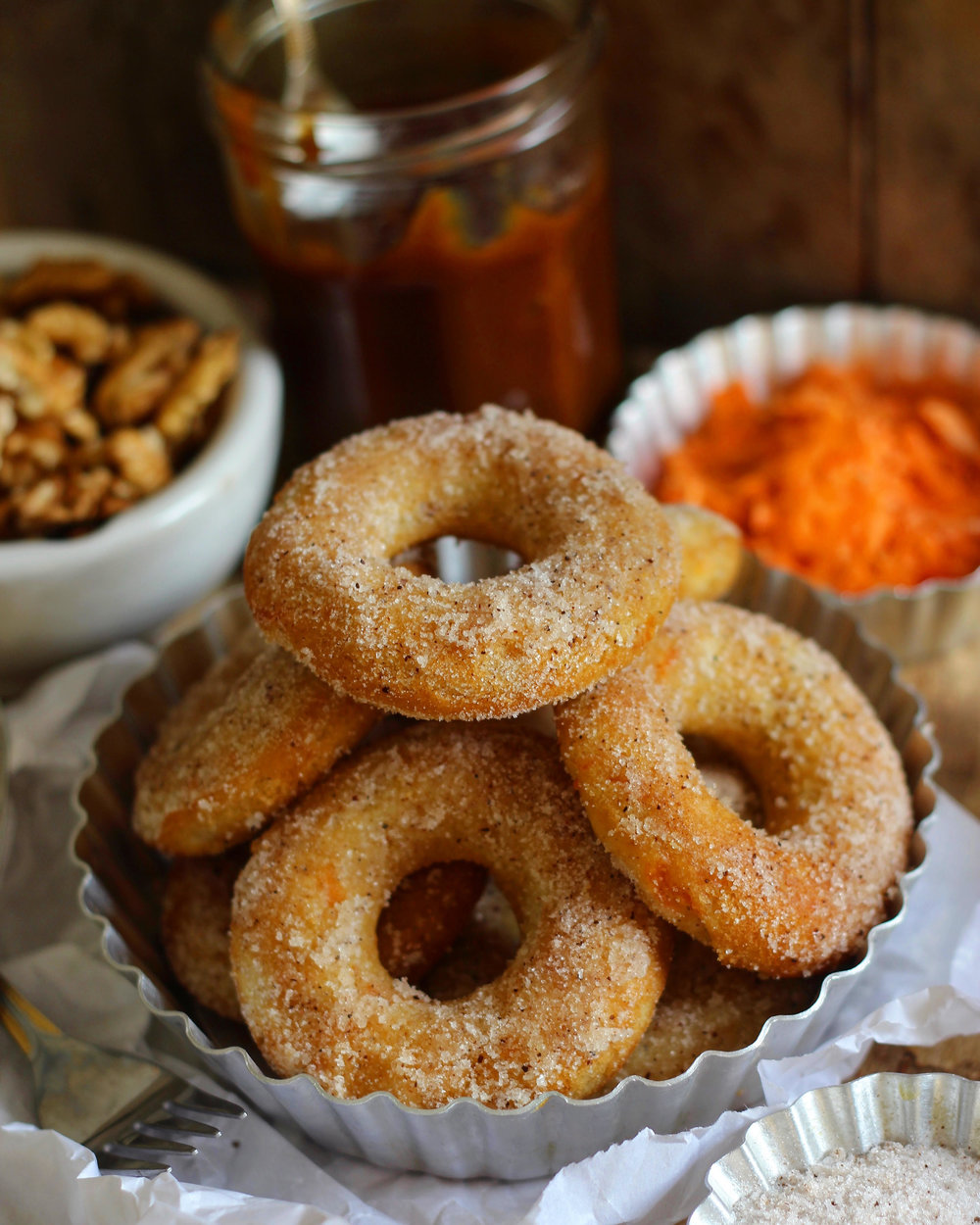 carrot cake donut recipe
