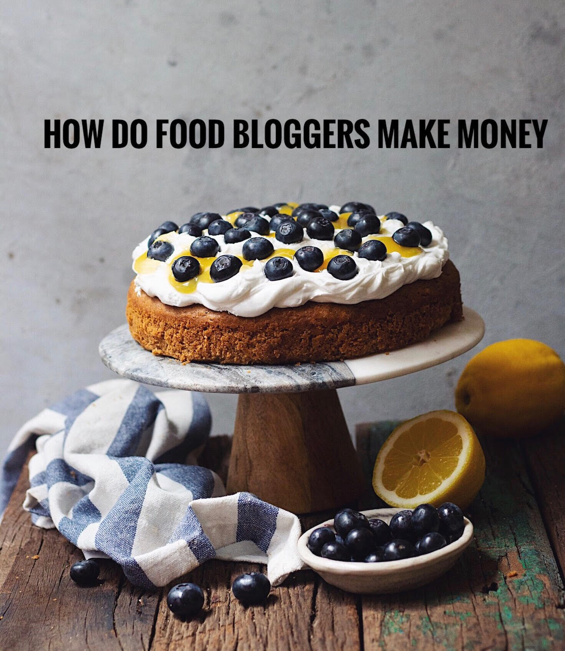 how to food bloggers make money