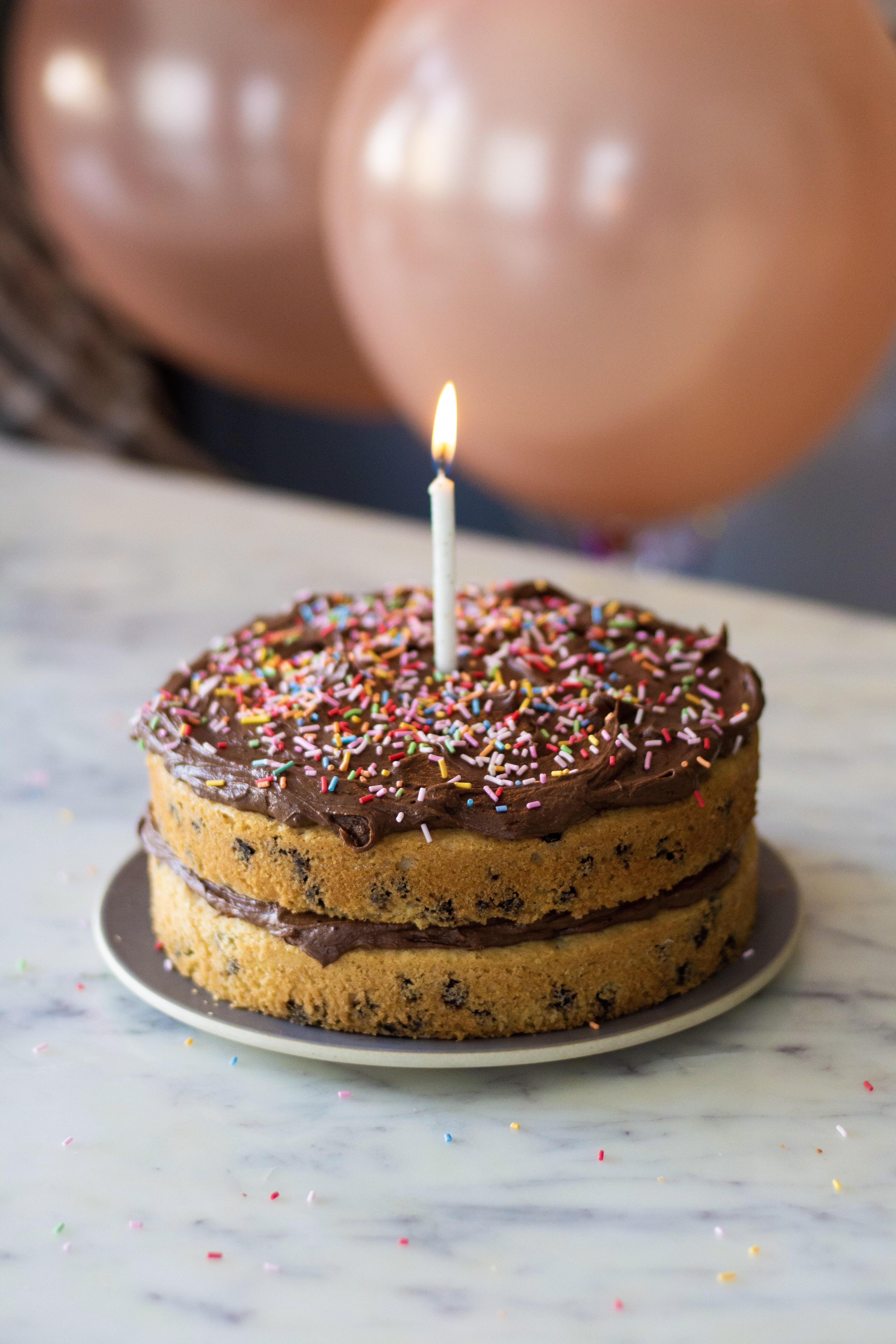 chocolate chip birthday cake recipe