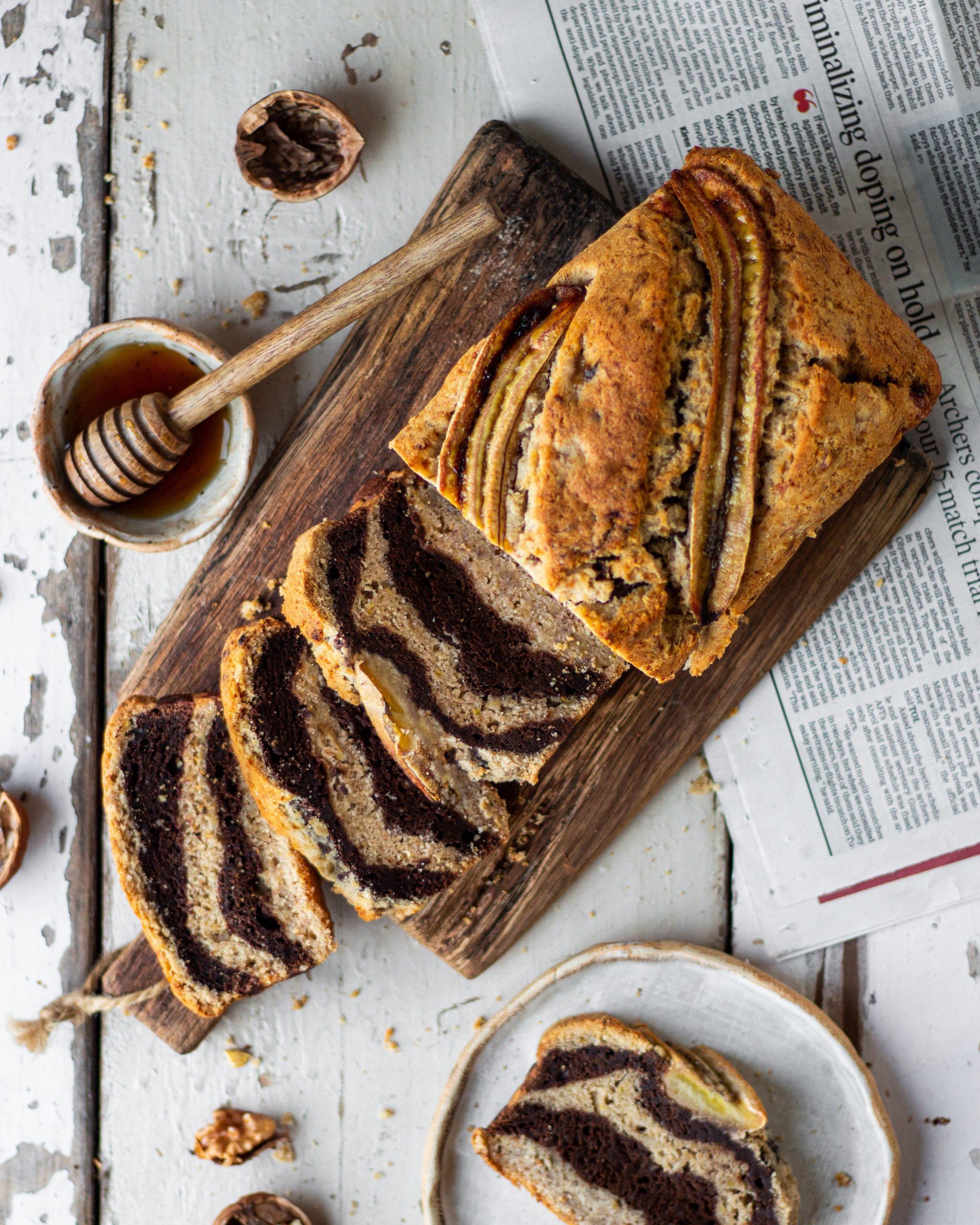 marble banana bread recipe