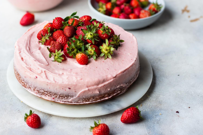 No-oven Vanilla Cake