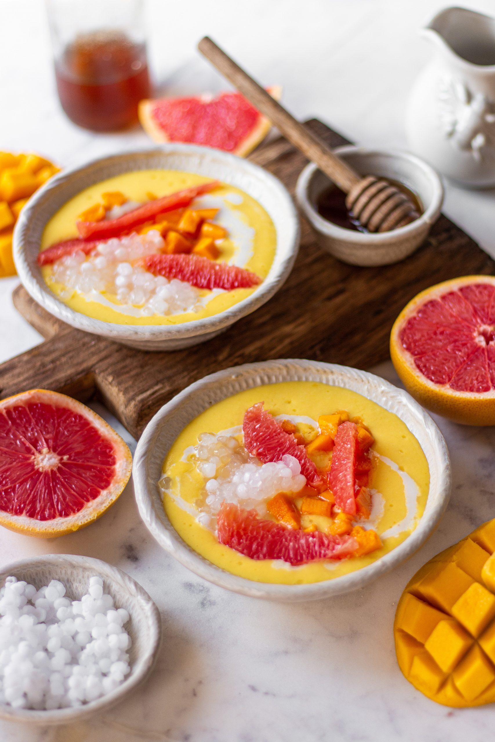 Mango Sago Pudding Recipe