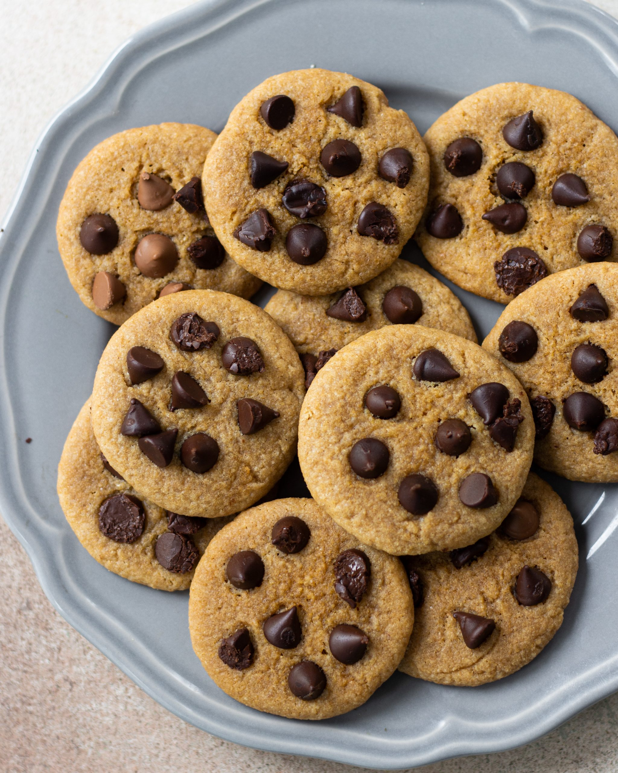 no oven chocolate chip cookies