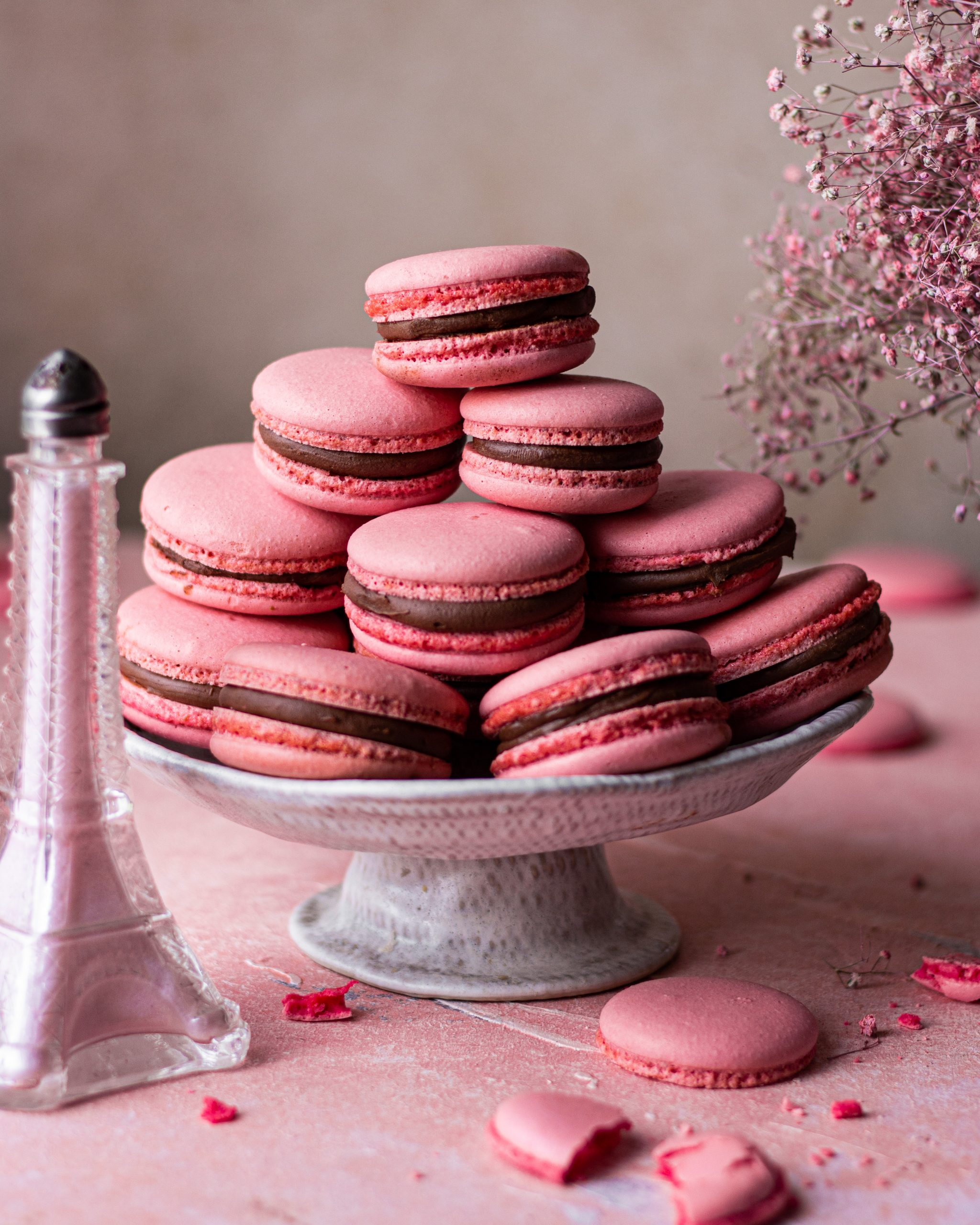 Eggless Macarons Recipe Tasty Bake With Shivesh