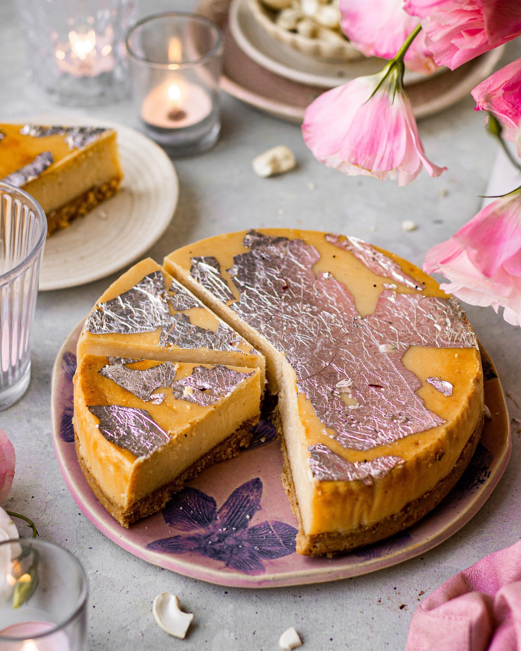 kaju katli cheesecake