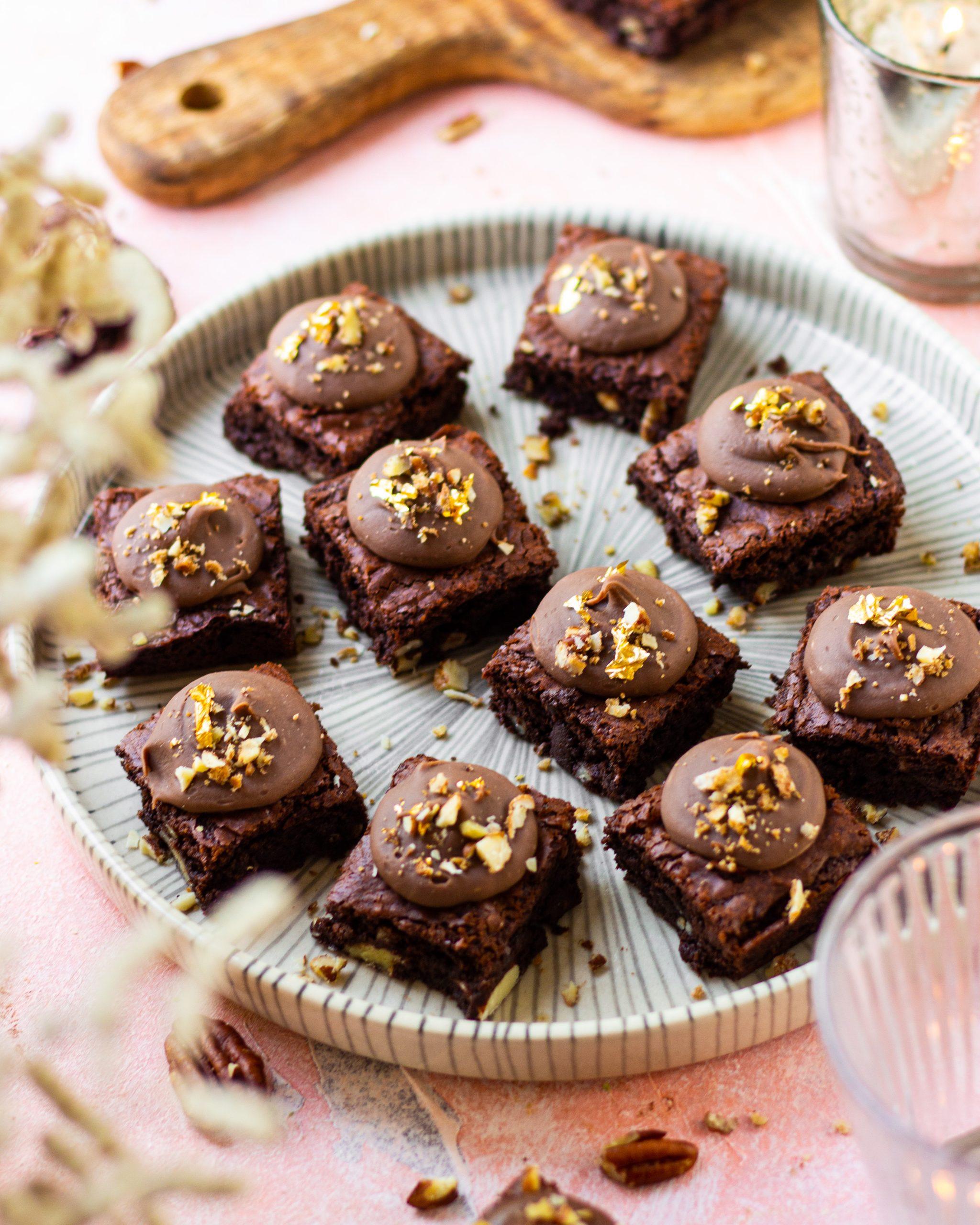 chikki brownie bites