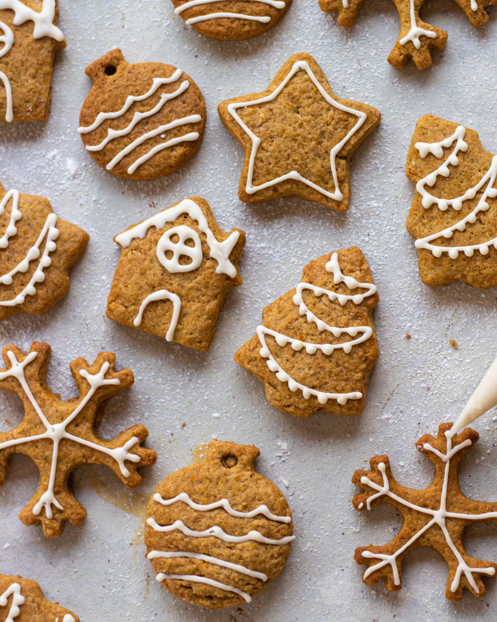 eggless gingerbread cookies