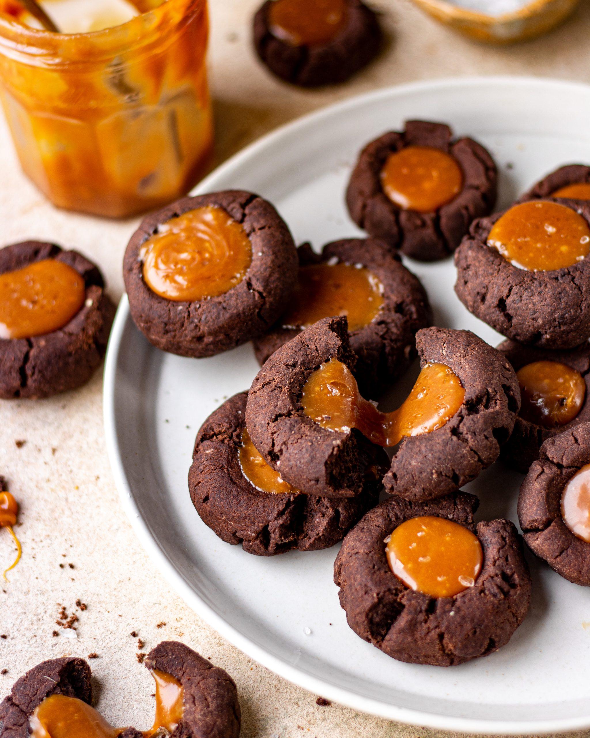 caramel cookie