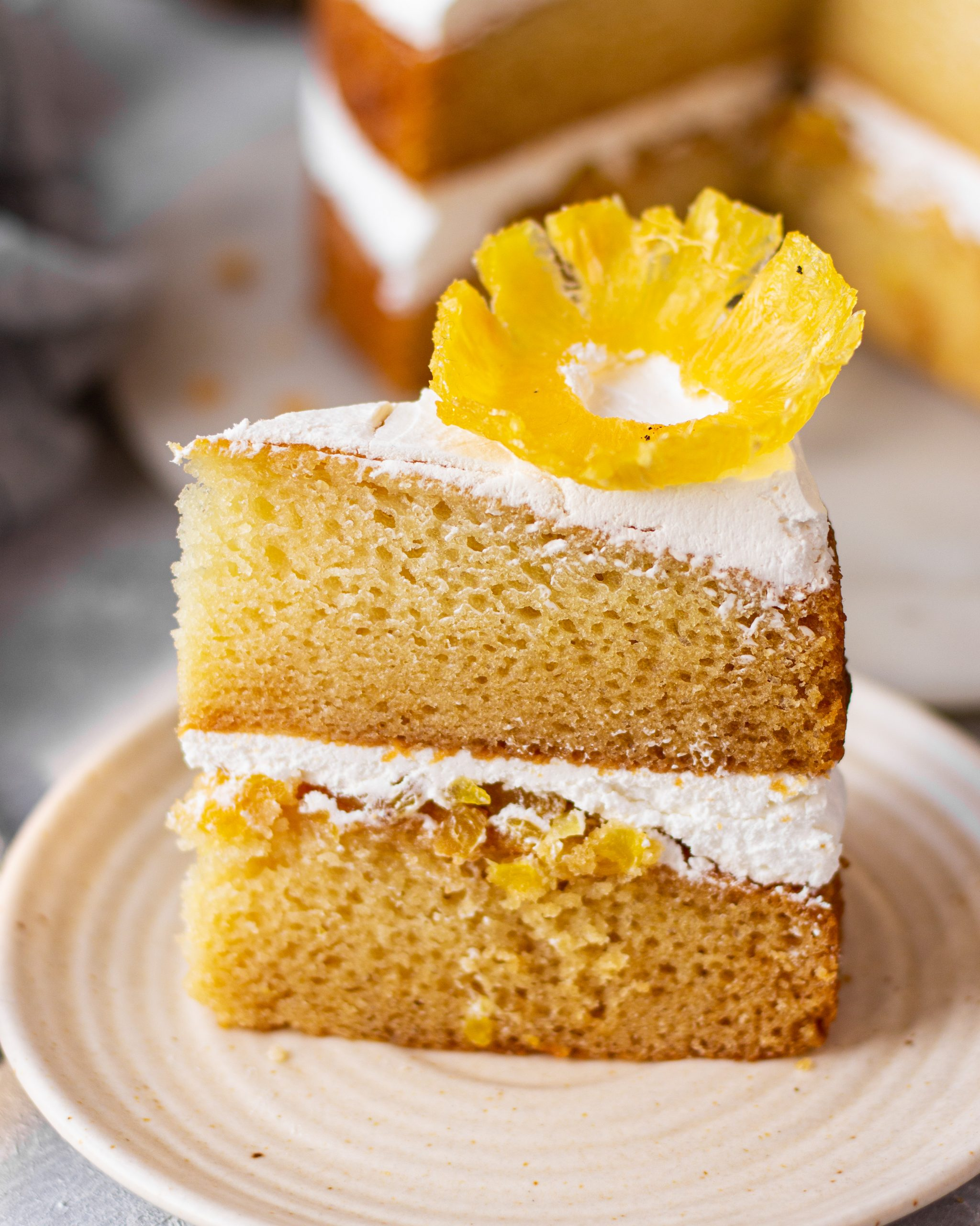 eggless pineapple cake