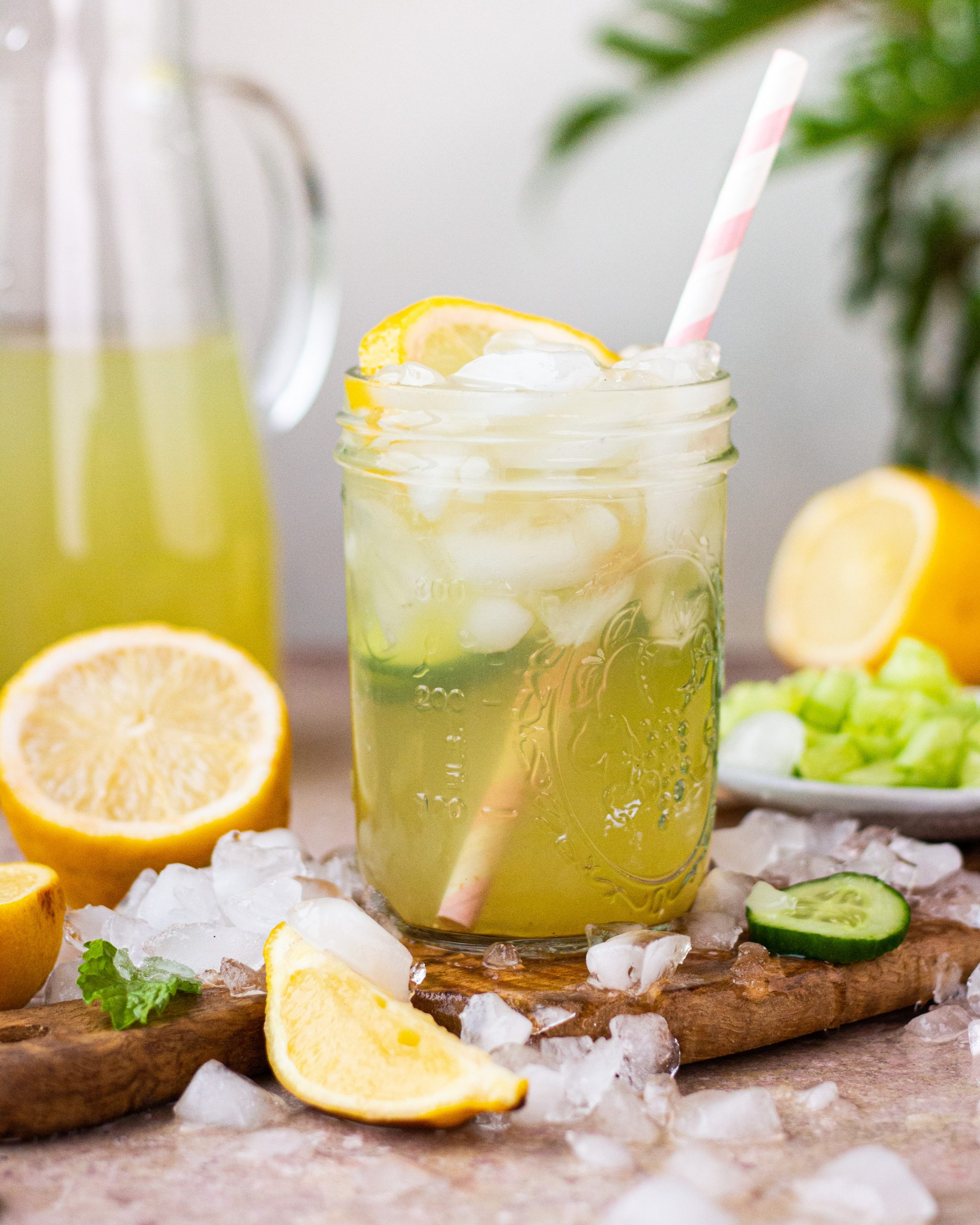 three lemonade flavors
