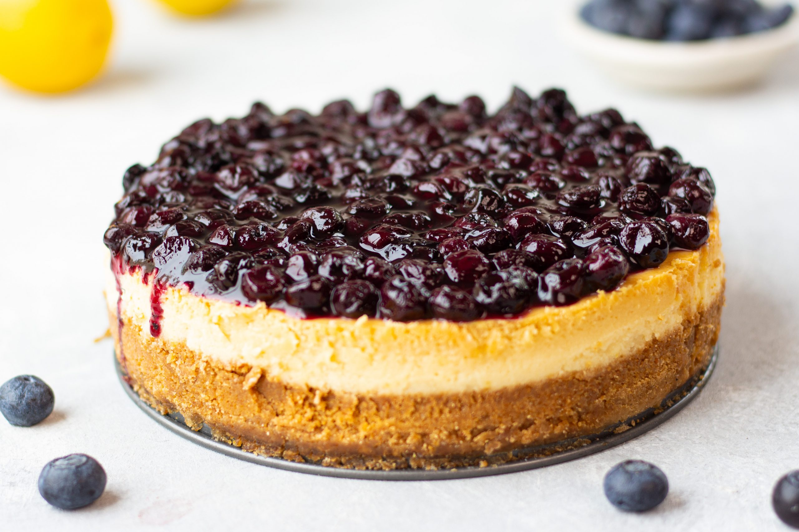 blueberry compote from scratch
