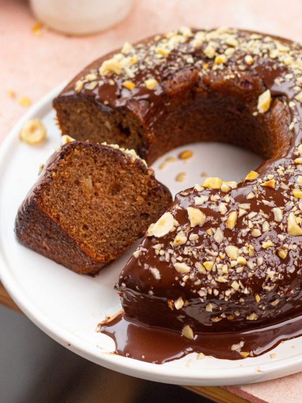 eggless nutella cake