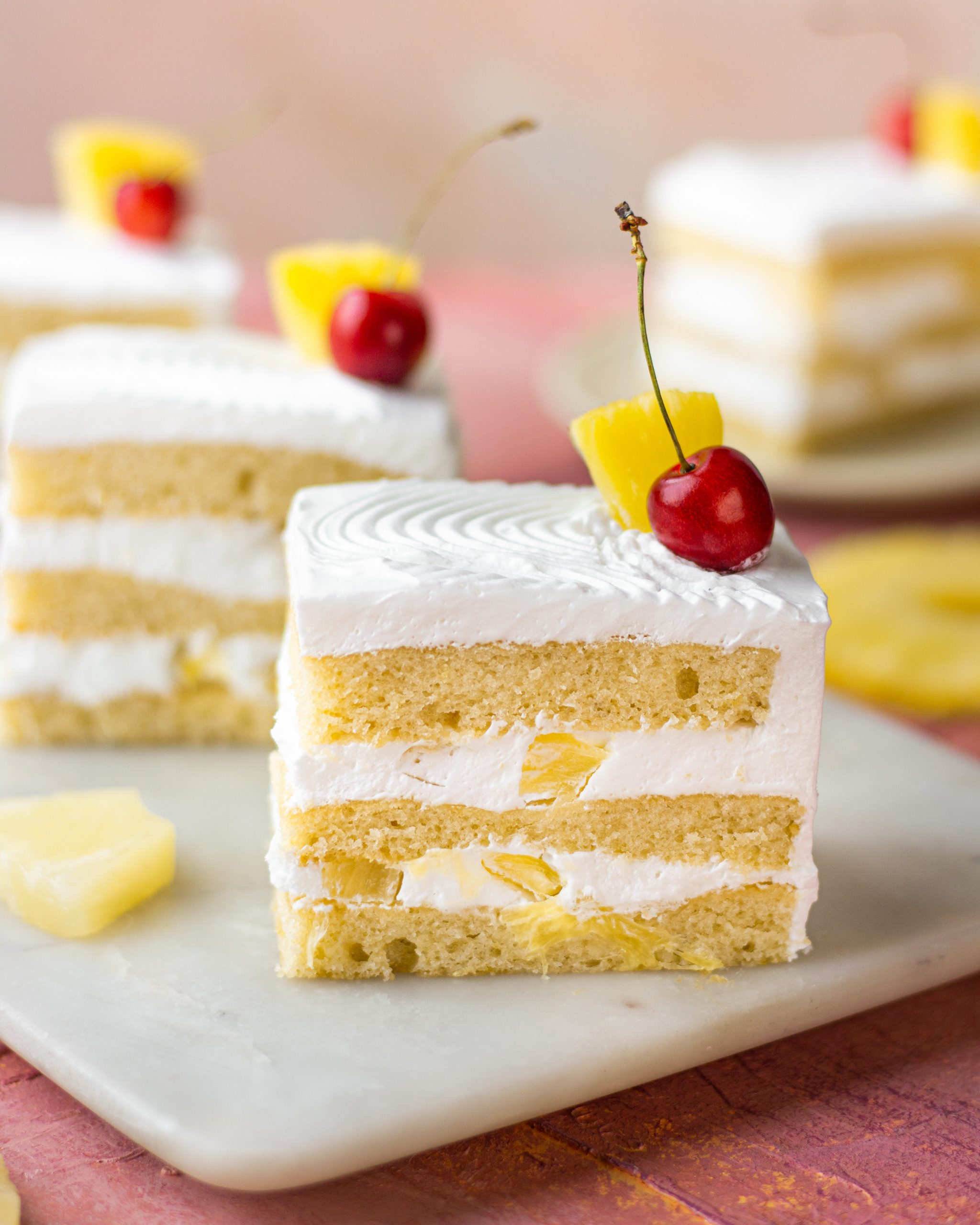 eggless pineapple pastry