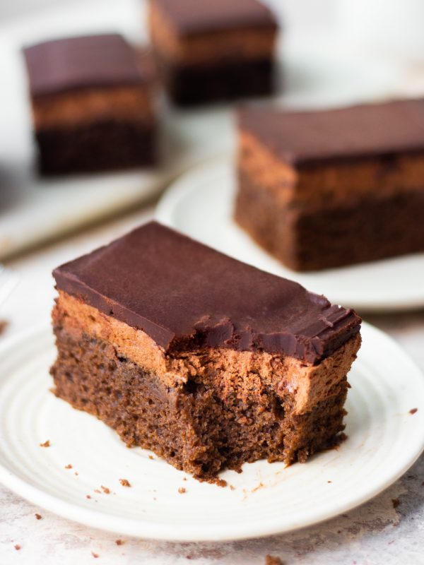 triple chocolate pastry